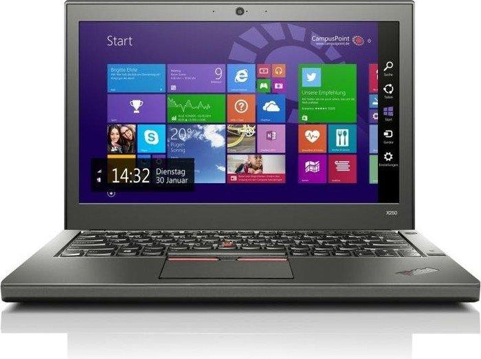 Ноутбук Lenovo ThinkPad X250-Intel-Core-i5-5300U-2,3GHz-8Gb-DDR3-258Gb-SSD-W12.5-Web+батерея-(B)- Б/У