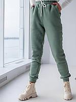 Теплі спортивні штани з трехнитки з начосом