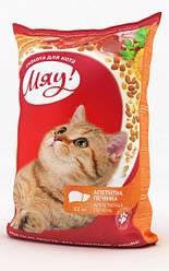 Сухой корм для кошек Мяу Аппетитная Печень 14 кг