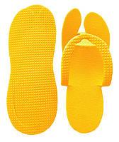 Тапочки в'єтнамки одноразові, Жовтий (25 пар/уп)