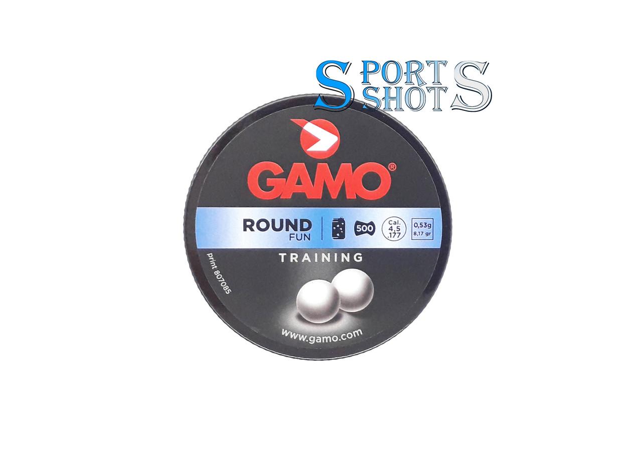 Пули Gamo Round 4.5мм, 0.53г, 500шт