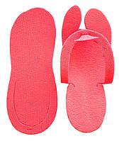 Тапочки в'єтнамки одноразові, Рожевий (25 пар/уп)
