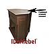 Угловой и фронтальный камин IDaMebel Barcelona Goodfire 23 технология LED мерцающих дров со звуком, фото 2