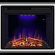 Угловой и фронтальный камин IDaMebel Barcelona Goodfire 23 технология LED мерцающих дров со звуком, фото 4