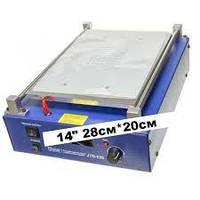 """Сепаратор вакуумний """"14"""" 28см*20см JUD628 з регулюванням вакууму, для поділу дисплейних комплектів з вбудованим компресором"""