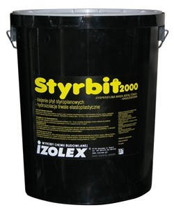 STYRBIT 2000 - битумно-каучуковая мастика на водной основе (ведро - 5кг)