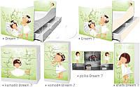Кровать для девочки Лучшая подружка Дрема Стайл от 1400х700