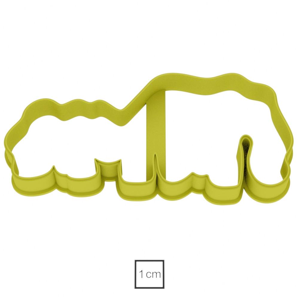 Висічка для пряників у вигляді бегемотів