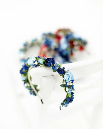 Обруч с цветами, фото 2