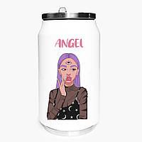Термобанка Ангел Діджитал Арт (Angel Digital art) 350 мл (31091-1635) термокружка з нержавіючої сталі, фото 1