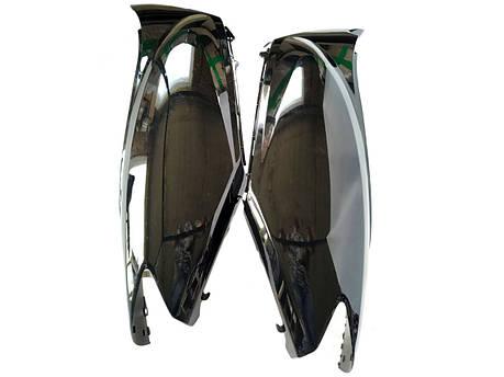 Пластик HONDA DIO AF-56 задняя боковая пара/боковые обтекатели, фото 2