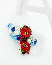 Ободок с цветами для деток, фото 3