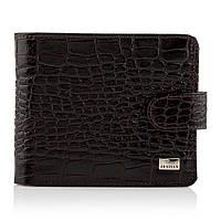 Мужской кошелек портмоне кожаный Desisan t311/1 темно-коричневый