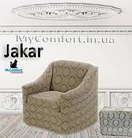 Чехол на кресло JaKar. Кофейный