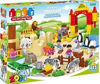 """Конструктор """"Счастливый Зоопарк"""", фигурки, животные, 115 деталей, JDLT 5096"""