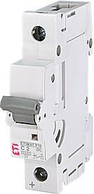 Авт. вимикач ETI ETIMAT P10 1p 2A C 10kA 260201108