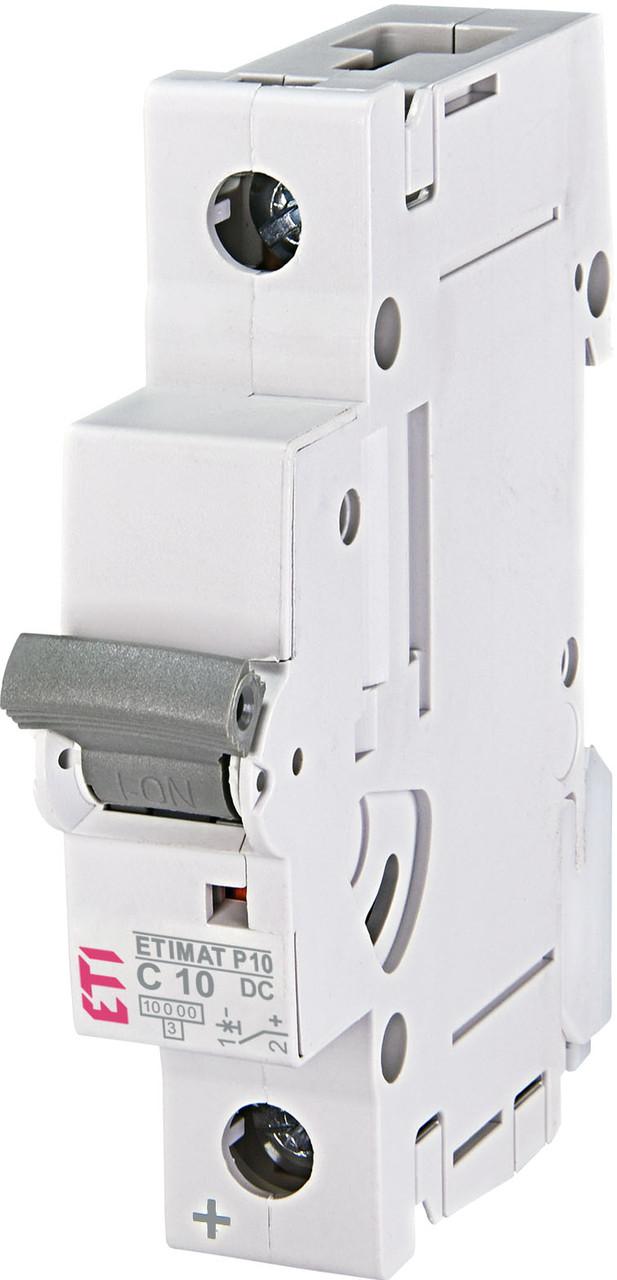 Авт. вимикач ETI ETIMAT P10 1p 10A C 10kA 261001103