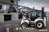 Новий екскаватор-навантажувач HIDROMEK HMK 102 B ALPHA, фото 4