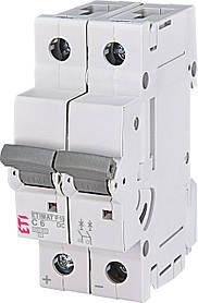 Авт. вимикач ETI ETIMAT P10 2p 6A 10kA 260621104