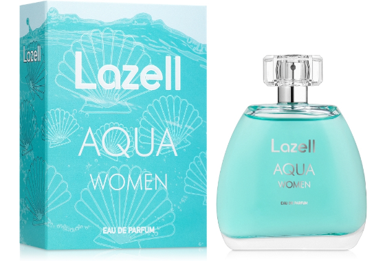 Парфюмированная вода женская Lazell Aqua, 100 мл.