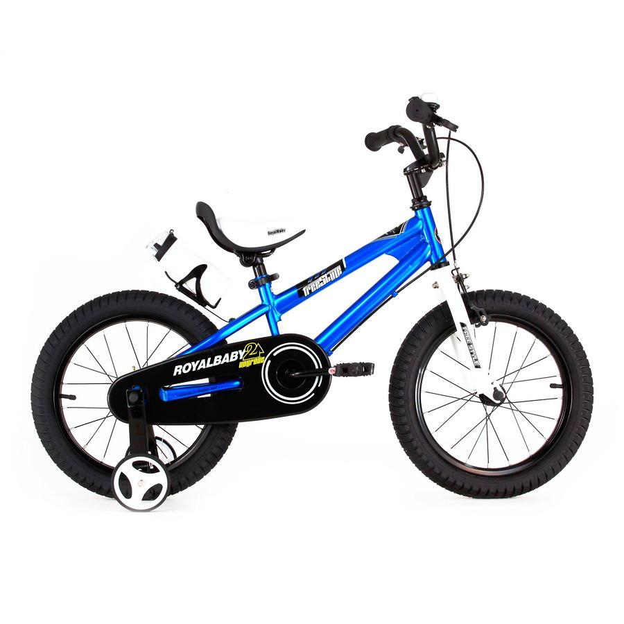 """Велосипед 16"""" RoyalBaby FREESTYLE OFFICIAL UA синій глянцевий RB16B-6"""