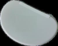 Шпатель для мастики пластмасовий овал Vitol VT6-20207 10*15см