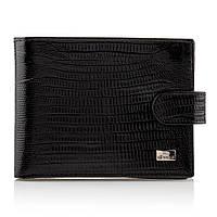 Мужской кошелек портмоне кожаный Desisan t741/2 черный