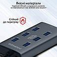 USB-хаб Promate EzHub-7 7хUSB 3.0 Grey, фото 6