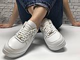 Кроссовки зимние Nike Air Force low full white (Реплика ААА), фото 4