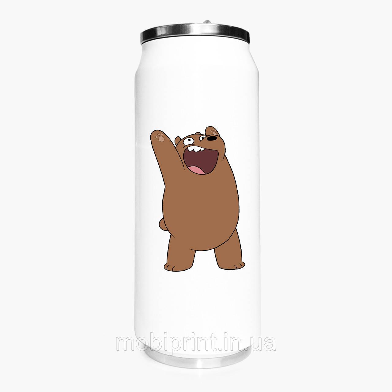 Термобанка Вся правда о медведях We Bare Bears 500 мл (31091-1777) термокружка из нержавеющей стали