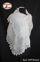 Женский белый пуховый плантин Эдита, фото 3