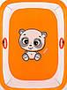 Манеж Qvatro Солнышко-02 мелкая сетка  оранжевый (panda), фото 2