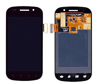 Модуль для Samsung I9020, черный, дисплей + сенсор