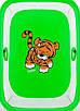 Манеж Qvatro LUX-02 мелкая сетка  зеленый (tiger), фото 2