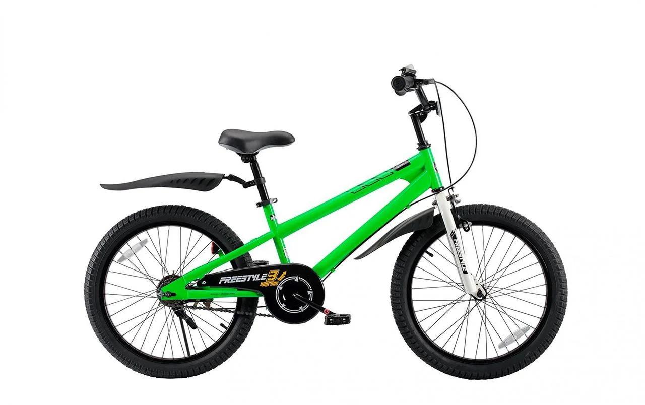 "Велосипед 20"" RoyalBaby FREESTYLE OFFICIAL UA салатовий RB20B-6"