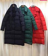 Женская куртка парка зима, длинная. Куртка пуховик для женщин 42-74+ разммер, фото 1