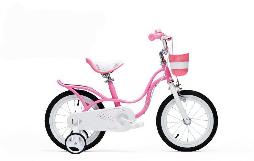 "Велосипед 16"" RoyalBaby LITTLE SWAN OFFICIAL UA рожевий RB16-19"