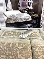 Набор полотенец Maison D'or Rose Marine Beige бамбуковые 30-50 см,50-100 см,85-150 см бежевые