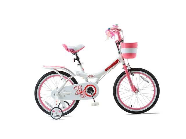 Велосипед 16 RoyalBaby JENNY GIRLS OFFICIAL UA белый / розовый RB16G-4