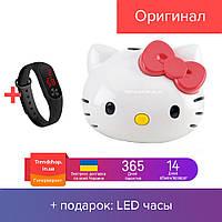 Портативный MP3-плеер аккумуляторный | детский плеер | колонка Hello Kitty (голова)