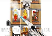 """Конструктор Lari """"Центральная пожарная станция """"Тушение пожара"""", 985 дет., 11216, фото 2"""