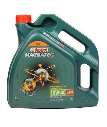 Моторное масло Castrol Magnatec A3/B4 10w40 4л