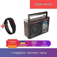 Радіоприймач акумуляторний   радіо GOLON RX-9966 UAR з USB mp3