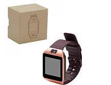 Смарт часы DZ09 Золото Original Smart Watch Смарт часи DZ09 Смарт-часы Smart Watch Acor DZ-09 Умные часы, фото 2