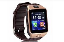 Смарт часы DZ09 Золото Original Smart Watch Смарт часи DZ09 Смарт-часы Smart Watch Acor DZ-09 Умные часы, фото 3