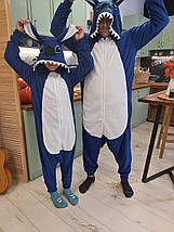Пижама костюм Кигуруми Стич для всей семьи, детей, взрослых, фото 3