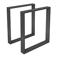Опора для стола из металла 600×80mm, H=730mm