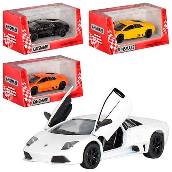 "Машина металл - Lamborghini LP640 ""KINSMART"""