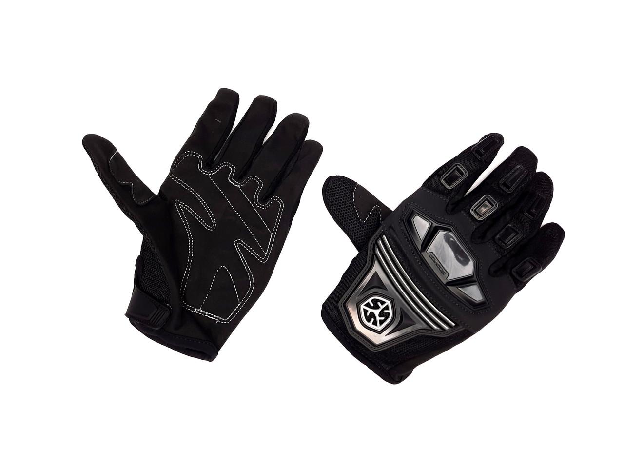 Перчатки SCOYCO MC-24 (size:L, черные, текстиль)