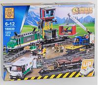Конструктор радиоуправляемый LION KING City Товарный поезд 180039 (Lego City Trains 60198), 1373 дет